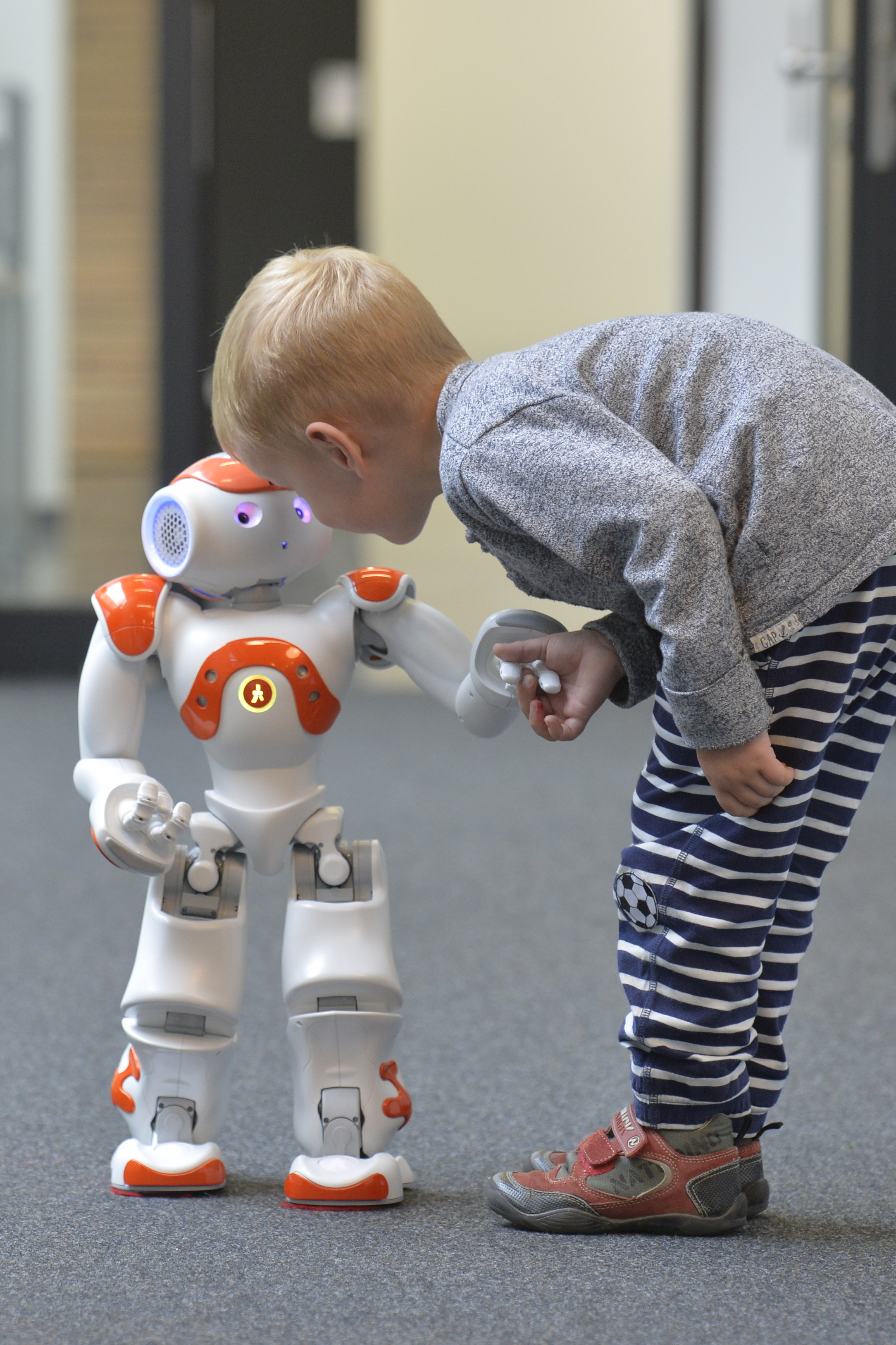 Second Language Tutoring Using Social Robots (L2TOR); ?>